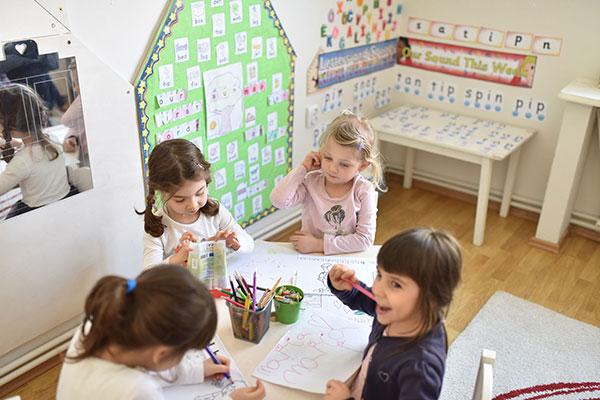 Structura zilei - Gradinita Little Learners